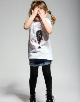 Детска тениска с интересни шарки EVE&IVI