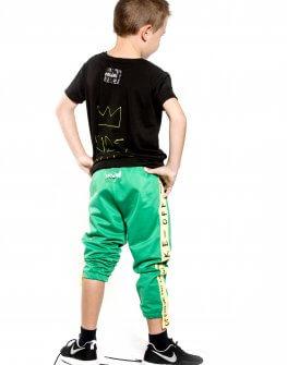 Зелен панталон с ластик EVE&IVI