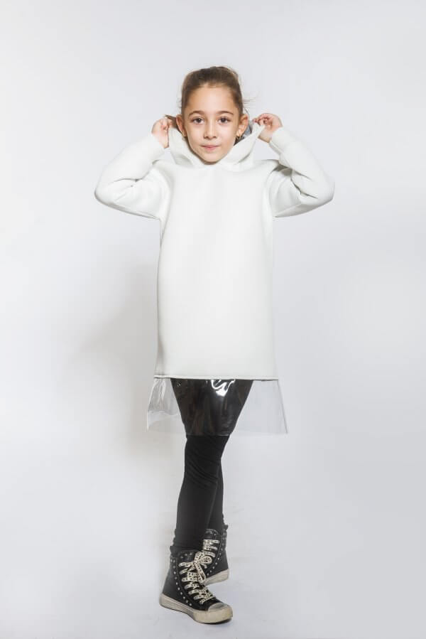 Горнище с качулка/рокля EVE&IVI