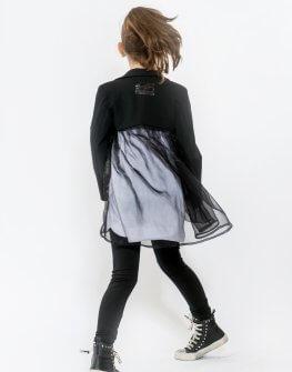 Детско черно сако EVE&IVI