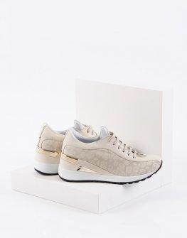 Ежедневни дамски обувки в бежов цвят