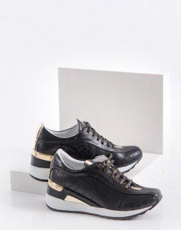 Ежедневни дамски обувки в черен цвят