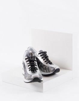 Ежедневни дамски обувки в сив цвят