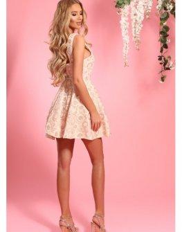 Дантелена рокля с цветя Cocoon