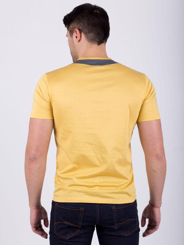 Мъжка блуза с къс ръкав