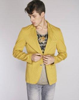 Мъжко сако в жълт цвят GAUDI