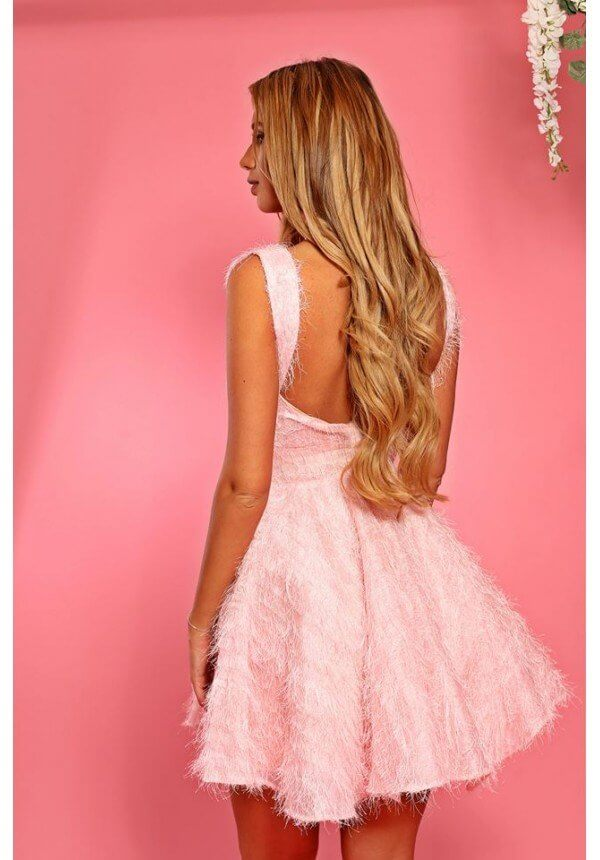 рокля с пера Cocoon
