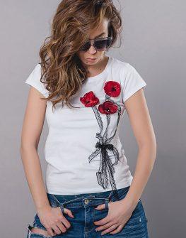 Тениска Red poppy